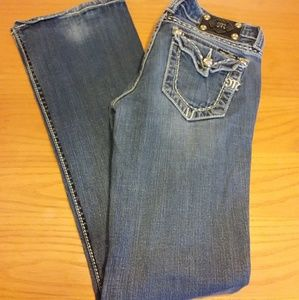 Miss Me Boot Cut Jeans size 28
